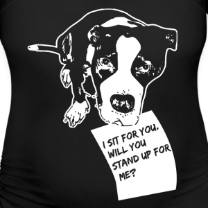 Dog lover T-Shirts - Women's Maternity T-Shirt