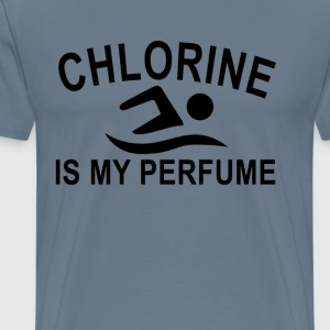 chlorine_is_my_perfume_cologn_swimming_ - Men's Premium T-Shirt