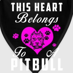 Hearts for Pitbulls Caps - Bandana