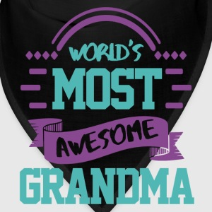 World's most awesome grandma Caps - Bandana
