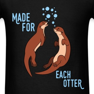 Otter - Made of each otter - Men's T-Shirt