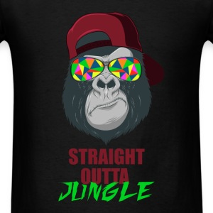 Jungle - Straight Outta Jungle - Men's T-Shirt