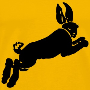 running rabbit - Men's Premium T-Shirt