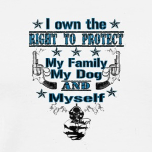 Right_to_Protect24000 - Men's Premium T-Shirt