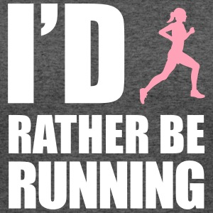 id_rather_be_running T-Shirts - Women's 50/50 T-Shirt