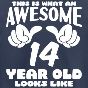 This is what an Awesome 14 year old looks like - Kids' Premium T-Shirt