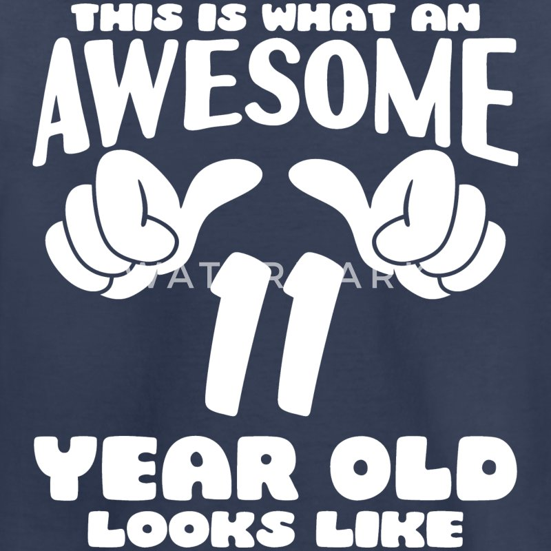 This is what an Awesome 11 year old looks like - Kids' Premium T-Shirt