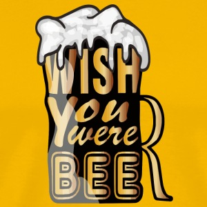 Wish you were beer! - Men's Premium T-Shirt