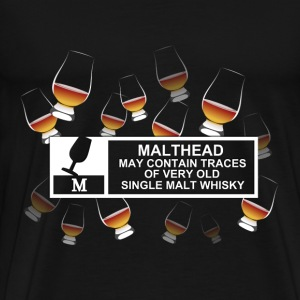 Malthead Warning T-Shirts - Men's Premium T-Shirt