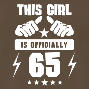 This Girl Is Officially 65 - Men's Premium T-Shirt
