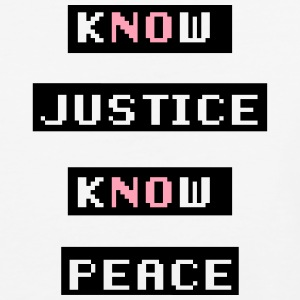 Know Justice Know Peace T-Shirts - Baseball T-Shirt