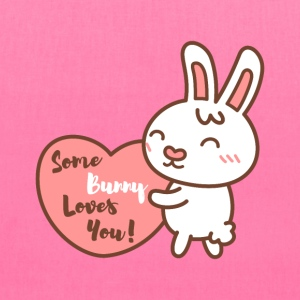 Some bunny loves you pun Bags & backpacks - Tote Bag