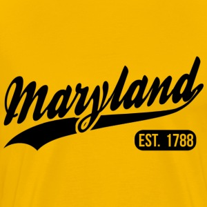 Maryland State T-Shirts - Men's Premium T-Shirt