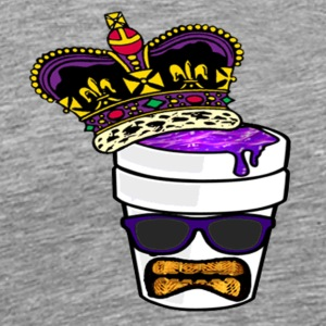 King_Actavis_Head - Men's Premium T-Shirt