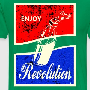 ENJOY REVOLUTION - Men's Premium T-Shirt
