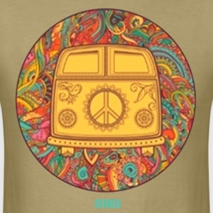HIPPIE WAGON - Men's T-Shirt