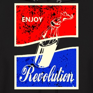 ENJOY REVOLUTION - Men's Hoodie