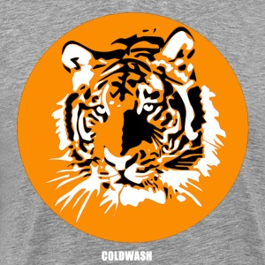 RETRO TIGER - Men's Premium T-Shirt