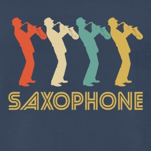 Retro Saxophone Pop Art - Men's Premium T-Shirt