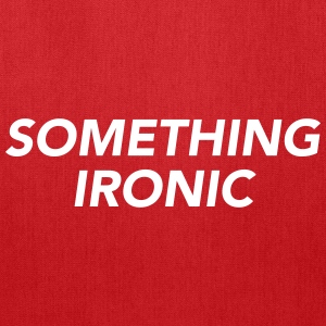 SOMETHING IRONIC Bags & backpacks - Tote Bag