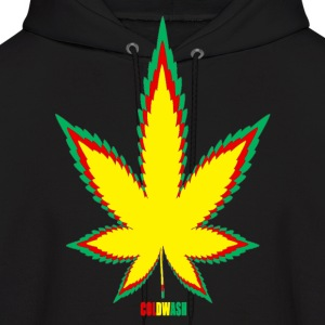 REGGAE LEAVES - Men's Hoodie