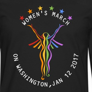 women's march - Men's Premium Long Sleeve T-Shirt