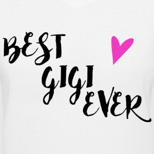 Best Gigi Ever V-Neck Shirt - Women's V-Neck T-Shirt