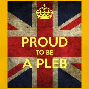 proud-to-be-a-pleb - Men's Premium T-Shirt