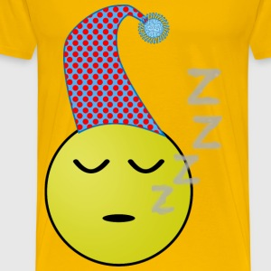 Sleepy Smiley - Men's Premium T-Shirt