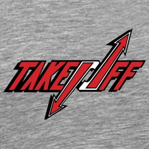 TakeOff Logo Red - Men's Premium T-Shirt