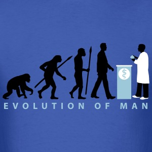 evolution_pharmacist_09_201603_3c T-Shirts - Men's T-Shirt