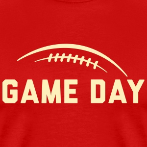 gameday_fb_subgirl T-Shirts - Men's Premium T-Shirt