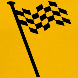Racing flag - Men's Premium T-Shirt