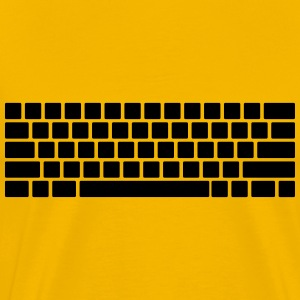 Keyboard layout - Men's Premium T-Shirt