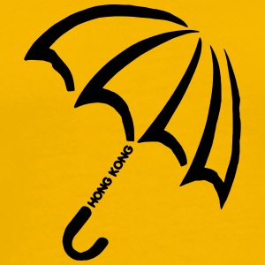 Umbrella Revolution Hong Kong Symbol - Men's Premium T-Shirt