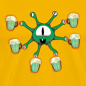 The Beer Holder r2 T-Shirts - Men's Premium T-Shirt