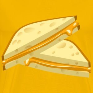 Food Grilled Cheese - Men's Premium T-Shirt