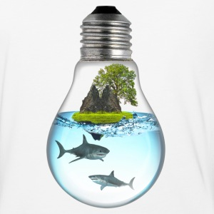Shark LightBulb 3000 T-Shirts - Baseball T-Shirt