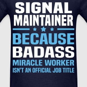 Signal Maintainer Tshirt - Men's T-Shirt