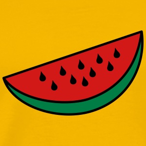 Watermelon Wedge - Men's Premium T-Shirt