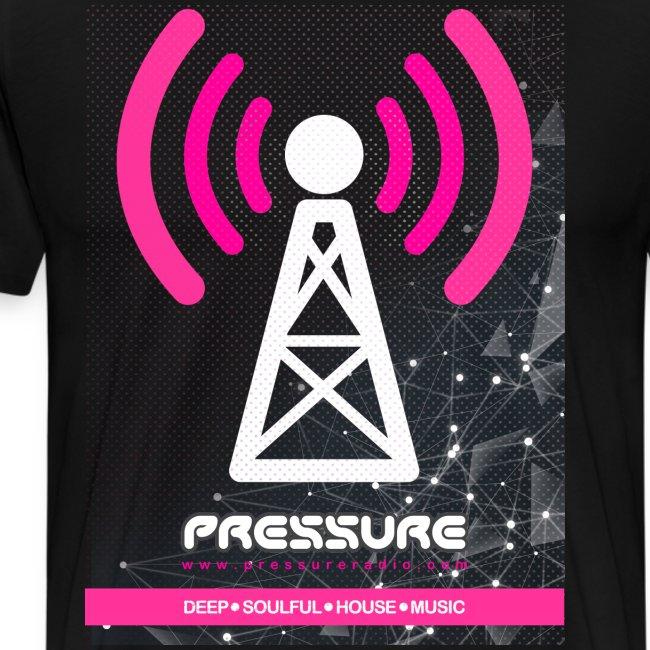 Broadcast Tower, Personalised (Dark Garment Print)