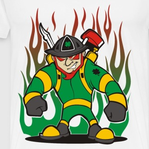 Irish Firefighter - Men's Premium T-Shirt