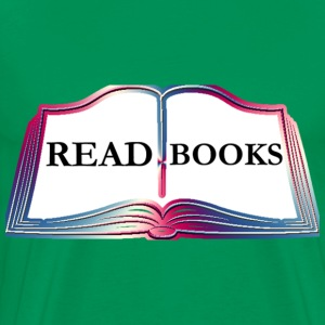Read Books - Men's Premium T-Shirt