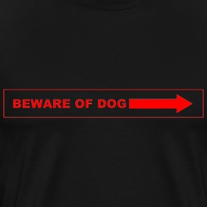 Beware of Dog - Men's Premium T-Shirt
