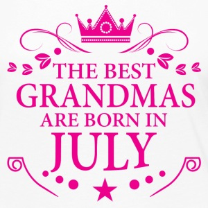 The Best Grandmas Are Born In July Long Sleeve Shirts - Women's Premium Long Sleeve T-Shirt