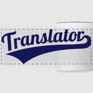 Translator Mugs & Drinkware - Panoramic Mug