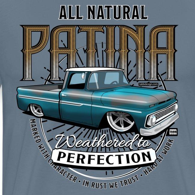 Natural Patina Blue PREMIUM ART Tee