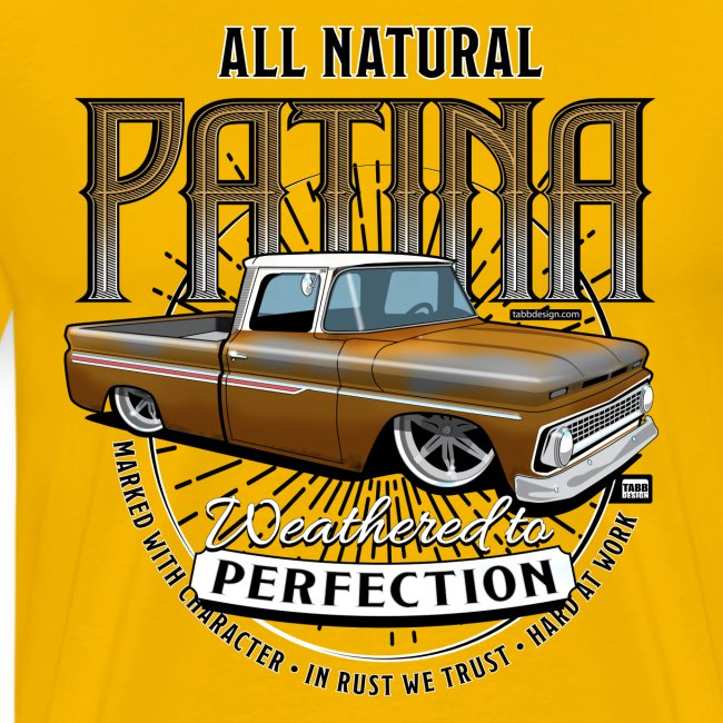 Natural Patina Gold PREMIUM ART Tee