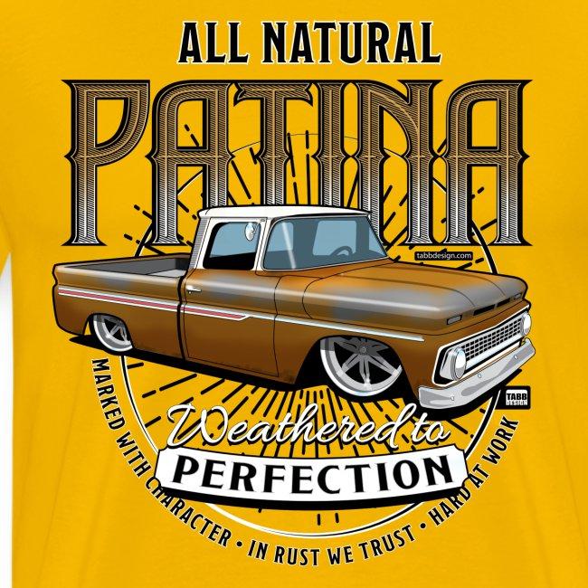 Natural Patina Gold PREMIUM ART Tee
