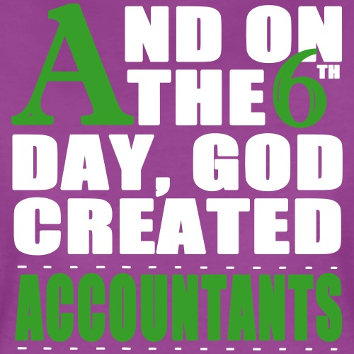 God Created Accountants